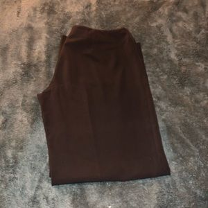 White House Black Market Size 14 Black Dress Pants